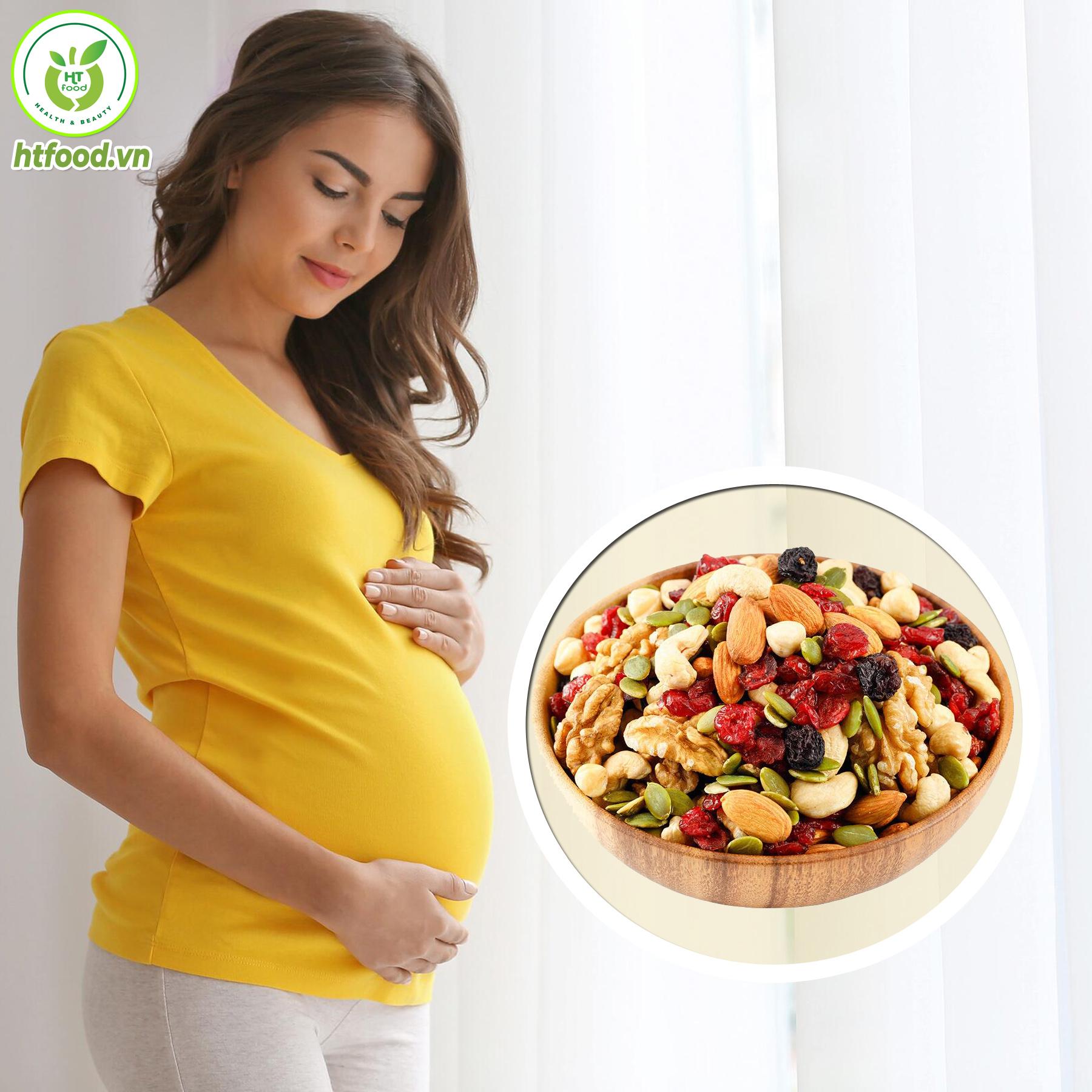 Các loại hạt dinh dưỡng tốt cho mẹ bầu