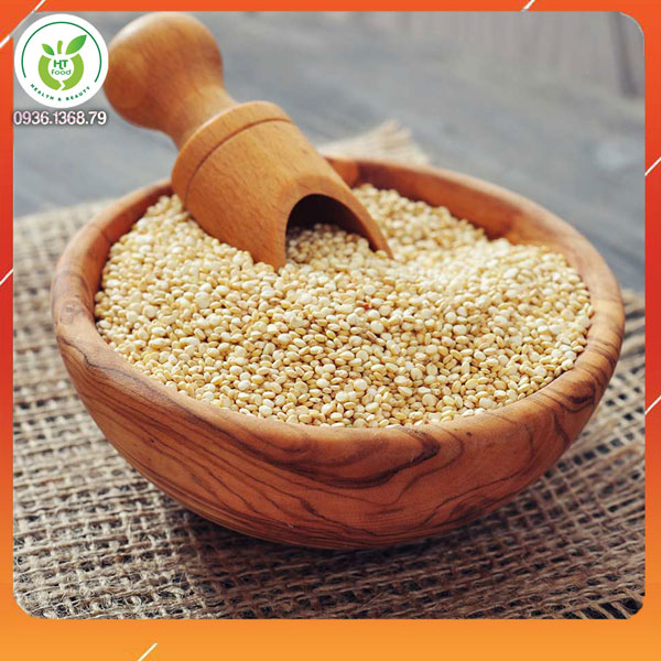 Hạt diêm mạch Quinoa